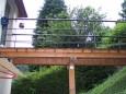 Brücke zum Garten